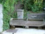 fontaine du châteaux de Pisançon
