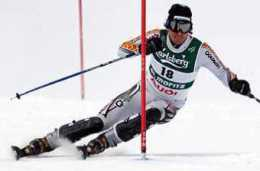 Ski à ancelle